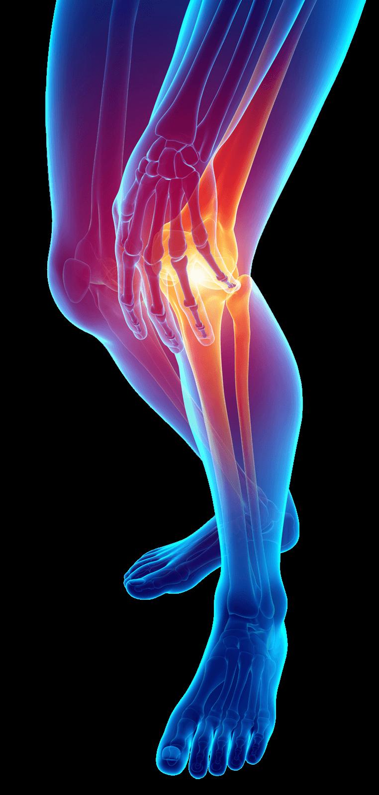 Ostry ból kolana